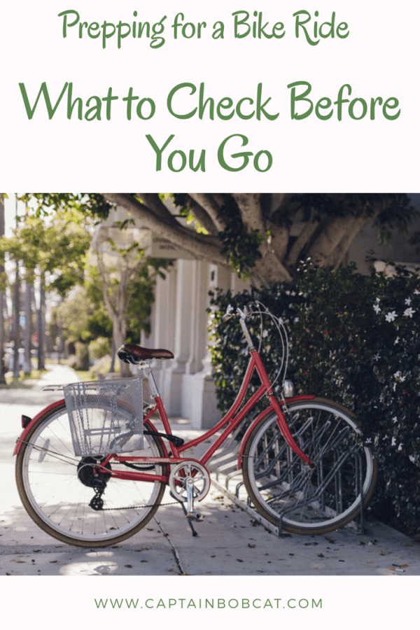 Prepping for a Bike Ride: What to Check for Before You Go