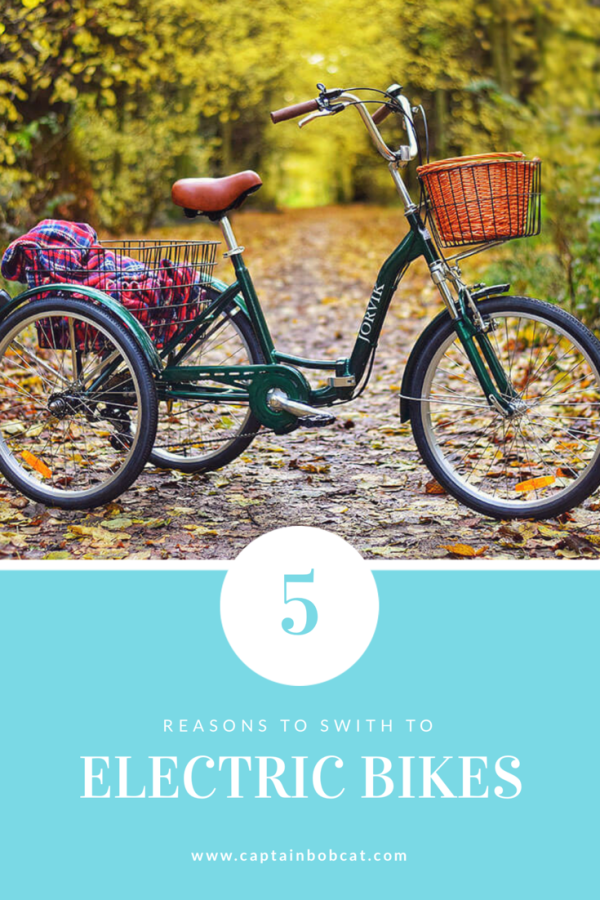 5 Reasons to Switch to Ecofriendly Electric Bikes