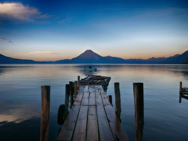 lake in guatemala