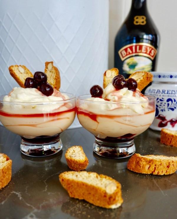 baileys cheesecake trifle