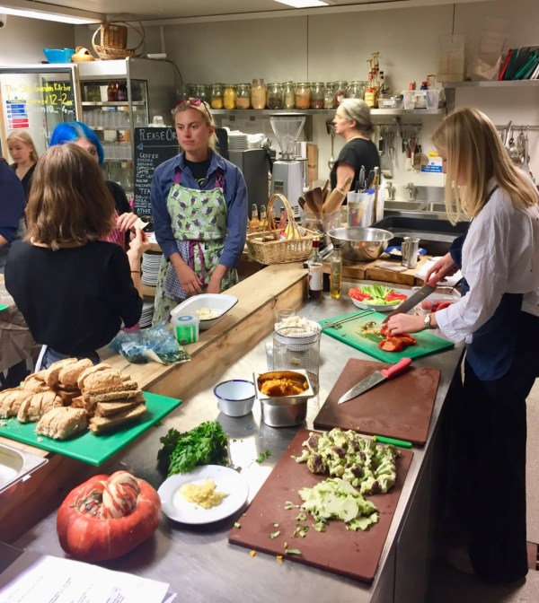 zero waste cookery class