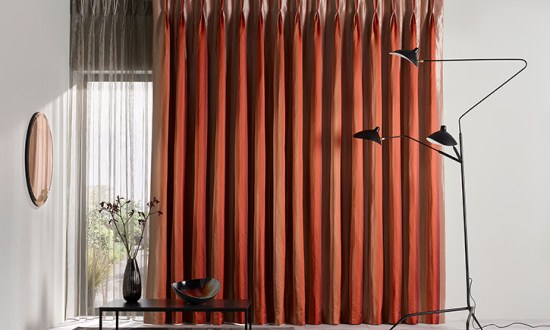 Retro Feel Curtain - Photo Credit Couture Living