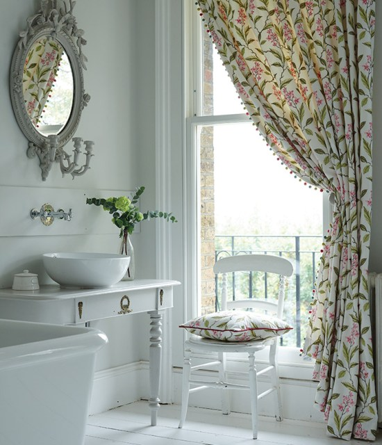 Floral Curtain - photo credit Couture Living