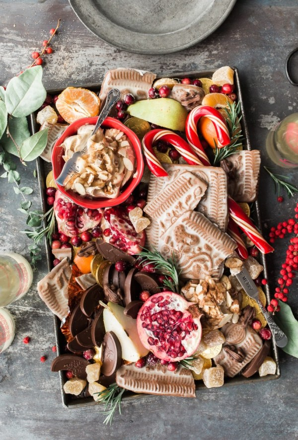 christmas food platter