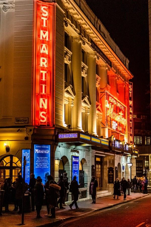 London theatre: post lockdown London