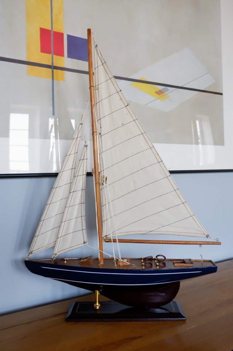 sailing boat model: Shore & More Handmade Nautical