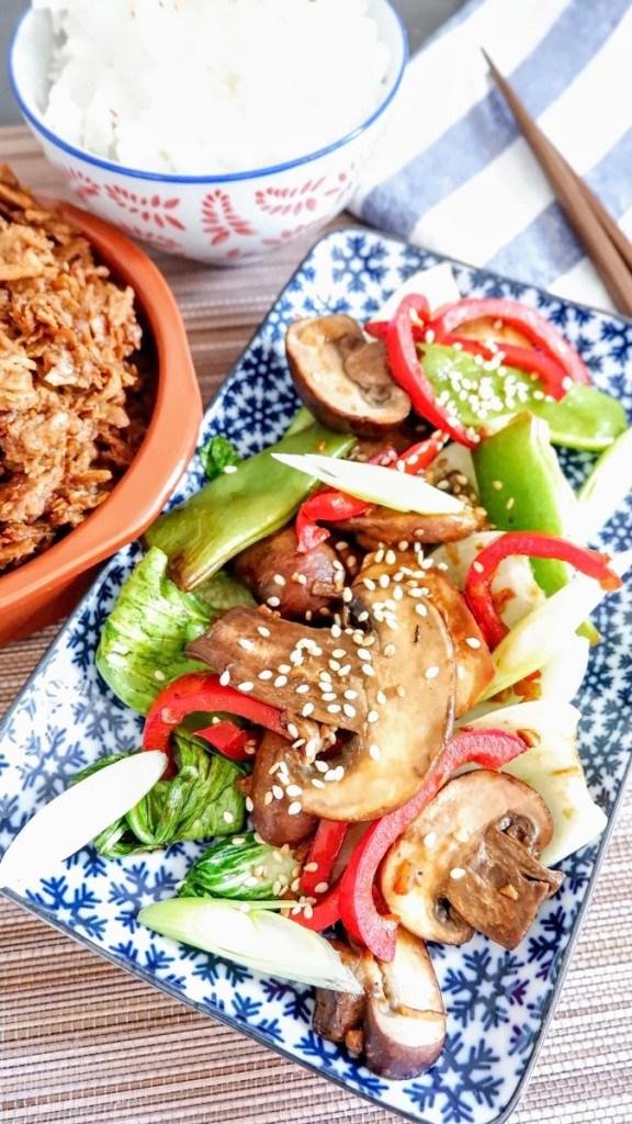 Simple Oriental Stir Fry (Vegan Recipe)