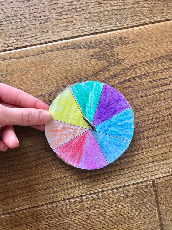 spinner craft: Home Schooling made fun