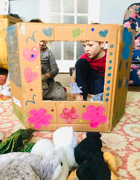 puppet theatre: Home Schooling made fun