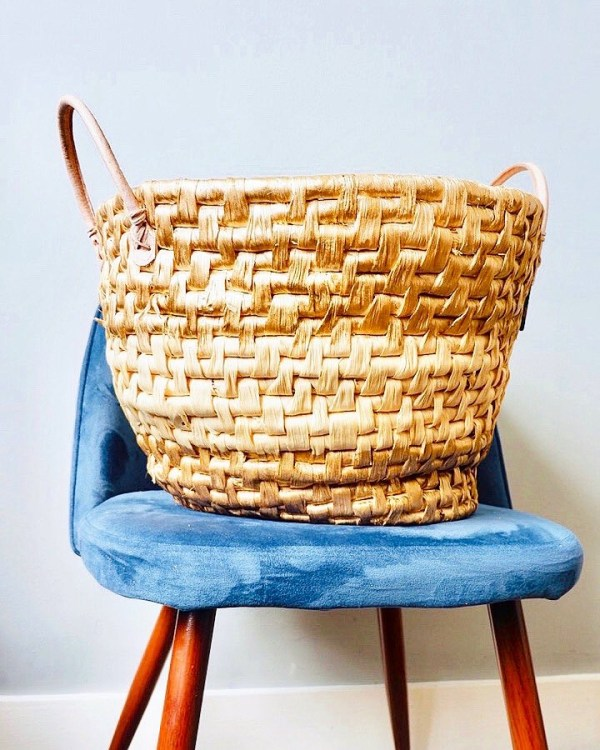 upcycled seaweed basket: upcycling projects