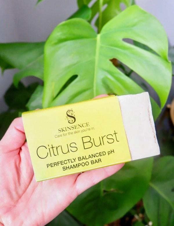 Green Picks July: Skinsense shampoo bar