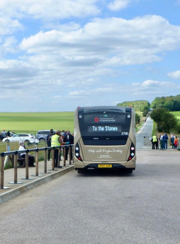 stonehenge shuttle
