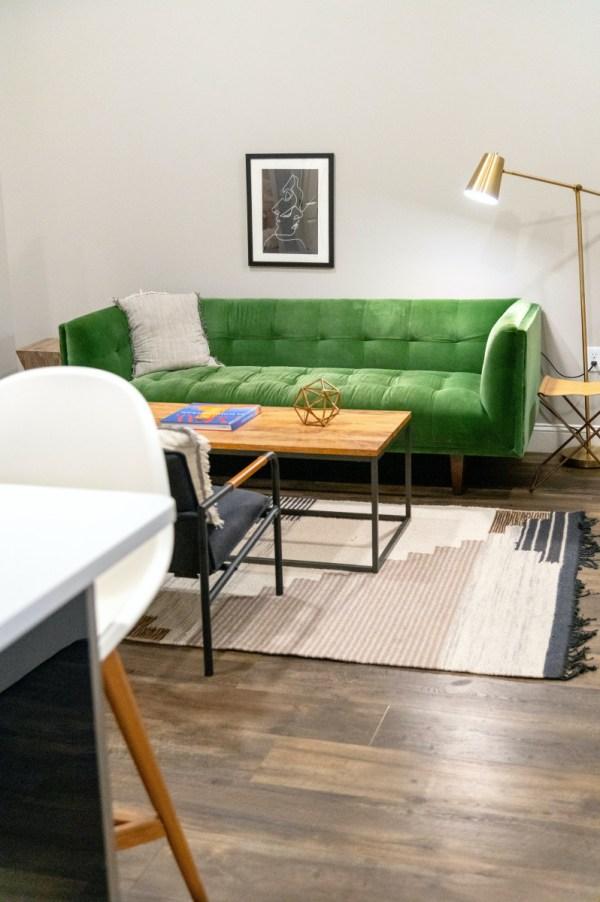 minimalist interior room