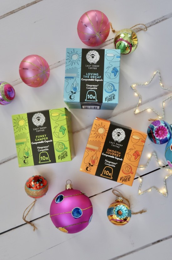 Lost Sheep coffee.. Ethical Christmas Stocking Fillers.