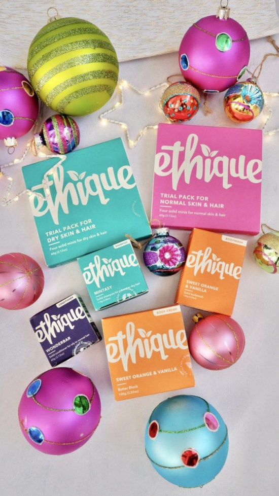 ethique products. Ethical Christmas Stocking Fillers.