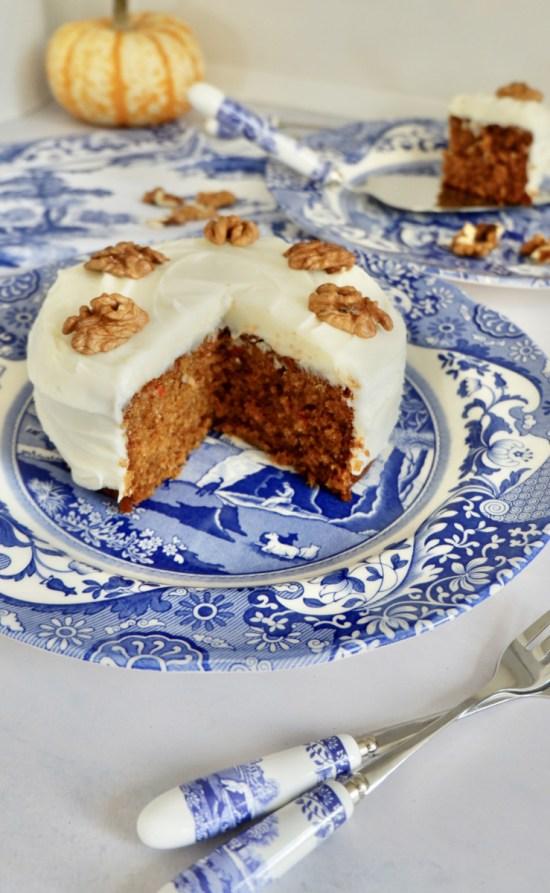 simple vegan carrot cake