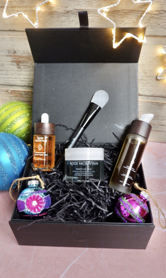 roze mountain gift set: Ethical Christmas Gifts.