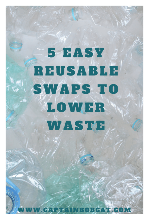5 Easy Reusable Swaps To Lower Waste