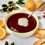 Beetroot, Orange and Ginger Soup