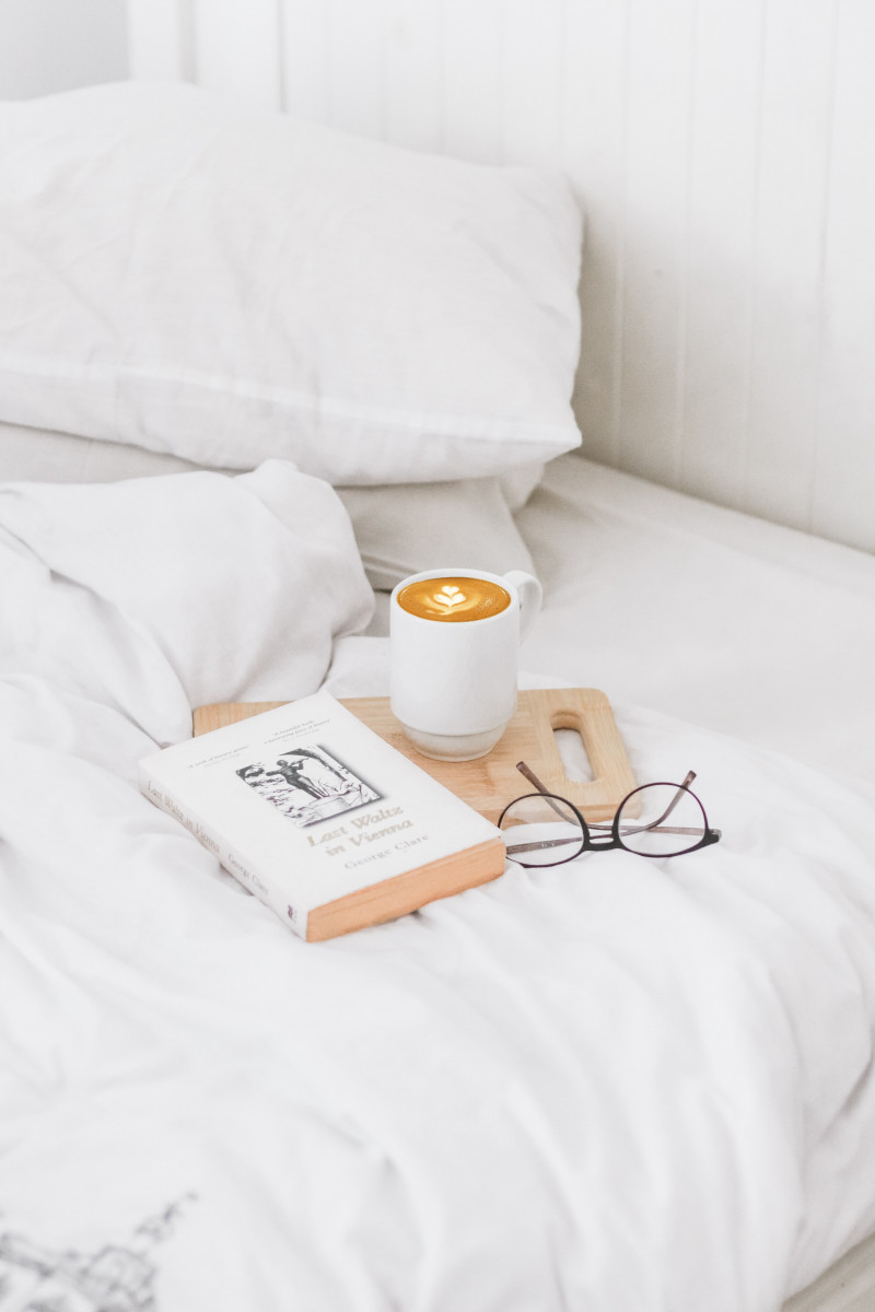 bed coffee book