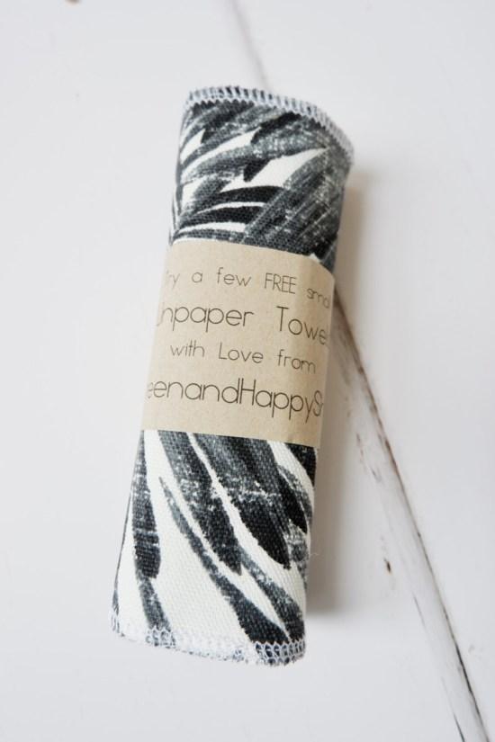 unpaper kitchen towel