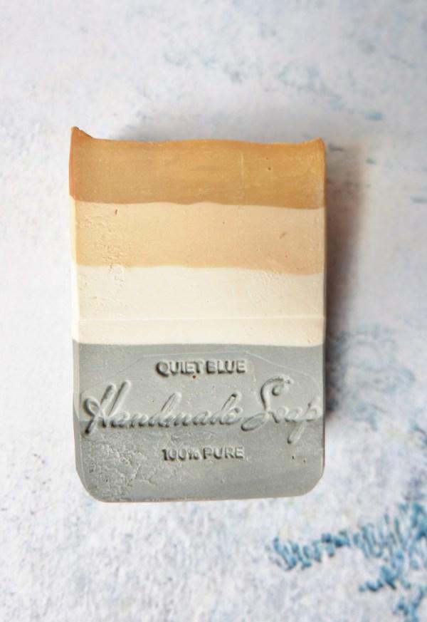Quiet Blue soap