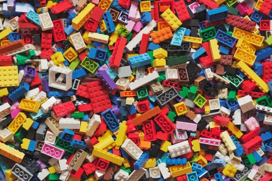 lego toy mess