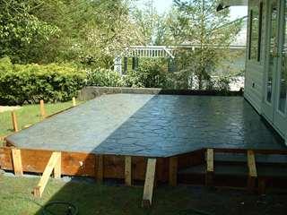 Concrete Patios and Decks - Captain Concrete Abbotsford BC on Raised Concrete Patio Ideas id=27104