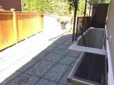 Concrete patio forms Chilliwack BC