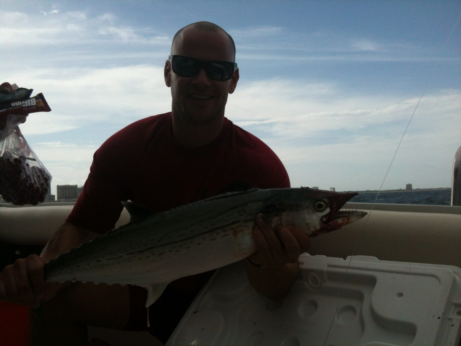 Cero Mackerel off Fort Lauderdale