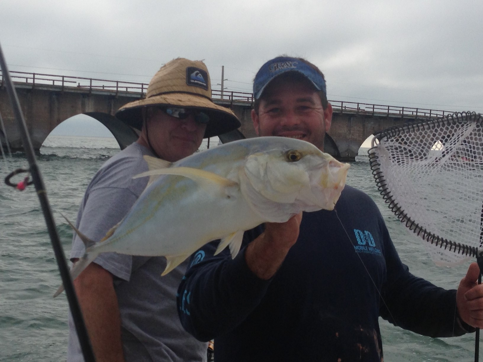 Yellowjack caught charter fishing off the Seven Mile bridge in Marathon part or the beautiful Fl Keys!