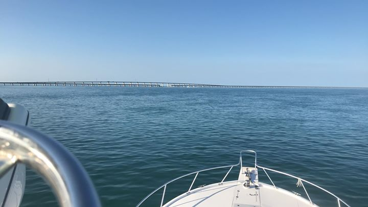 Beautiful day on the water. Doesn't get much better than this!
