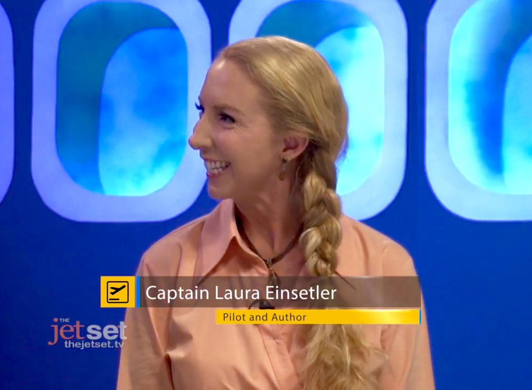 Captain Laura on The Jet Set! Lets talk Climate Change!