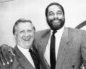 George Steinbrenner and Dave Winfield didn't share many tender moments.