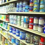 Full inventory of quality paints