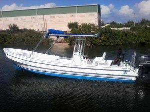 Captain Sharks Luna 25ft Limited Boat - Miss Aileen