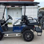 Navy Blue CarryAll 100 Club Car Golf Cart