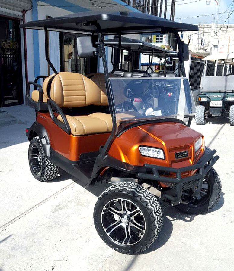 Onward Golf Cart, New Owner, Marisela Marin