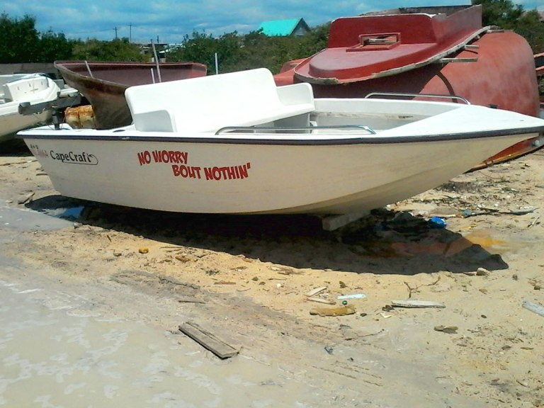 """Used 17ft CapeCraft Boat, """"No Worry Bout Nothing"""""""