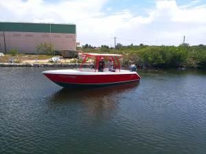 El Bote Flip Flop - New Tiburon 25ft Boat