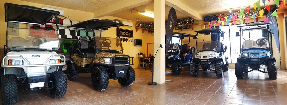 Captain Sharks Golf Cart Showroom