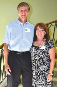 Jay Sawyer and Barbara Bradley Choate were voted class favorites in 1975.