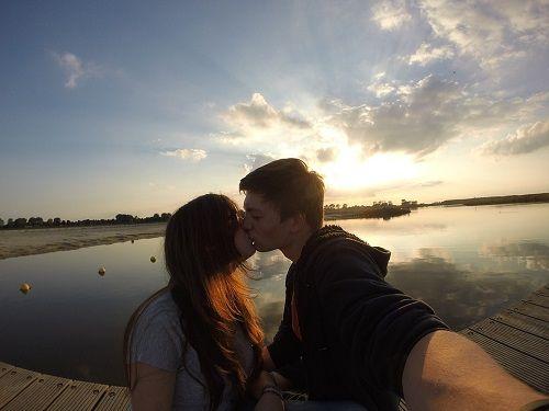 Selfie Caption with Boyfriend