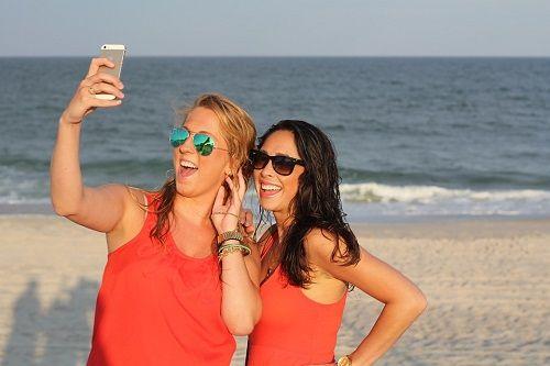 Selfie Caption with friend