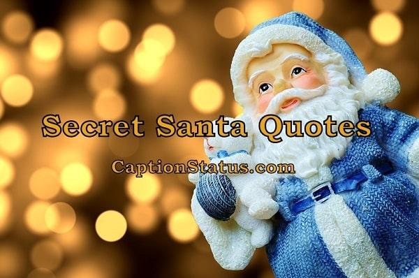 Secret Santa Quotes