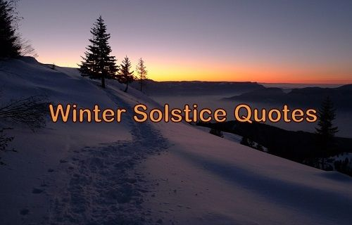 Winter Solstice Quotes