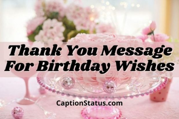 thank you message for birthday wishes-Feature
