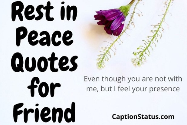 Rest in Peace Quotes for Friend