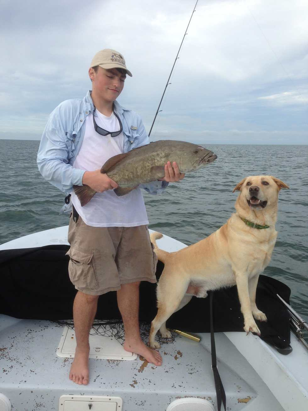 Charlie, Gag Grouper, Hank, August 10, Sanibel & Captiva Islands & Fort Myers Charters & Fishing Guide Service.