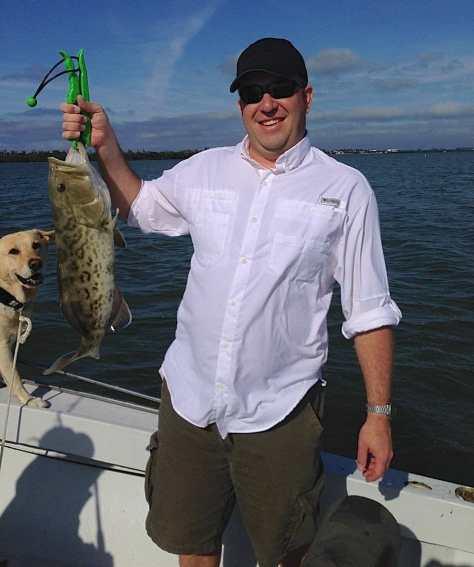 Grouper, 11-26-13, Captain Joey Burnsed, Sanibel & Captiva Islands & Fort Myers Charters & Fishing Guide Service.